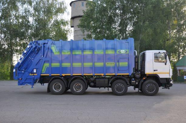 МАЗ. МК-3548-14 на шасси -6516С9-560-001 Мусоровоз (, с порталом, САУ)
