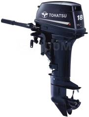 Tohatsu. 18,00л.с., 2-тактный, бензиновый, нога S (381 мм), 2019 год