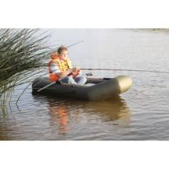 Лодка Leader Компакт-220 гребная ПВХ зеленый (С-Пб)