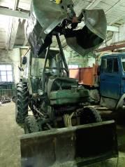 ЮМЗ 6А. Трактор с грейфером