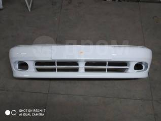 Бампер Chevrolet Lanos, Daewoo Lanos, белый.