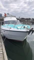 Аренда катера на Камчатке, рыбалка, морские прогулки. 12 человек, 60км/ч