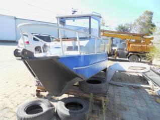 Алюминиевая лодка Stabi-Craft. 2016 год, длина 6,00м., двигатель без двигателя, бензин