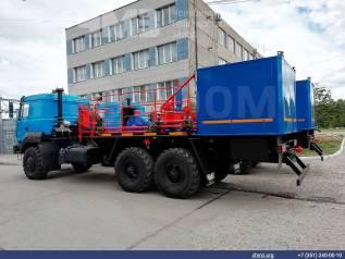 Агрегат цементировочный с поршневым насосом на шасси Урал 4320