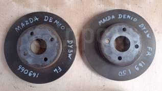 Диск тормозной передний Mazda Demio, Verisa