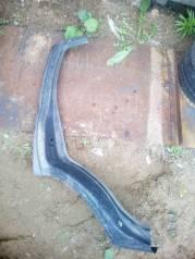 Задняя арка крыла и стойка Chevrolet Niva