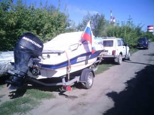 Продам катер Нептун с мотором меркурий 50