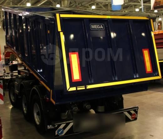 MEGA. Самосвальный МРТ 013 трехосный с поворотным кругом 18м3, 20 000кг. Под заказ
