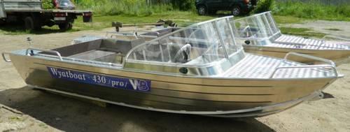 Wyatboat. 2020 год, длина 4,30м., двигатель подвесной, 40,00л.с., бензин. Под заказ