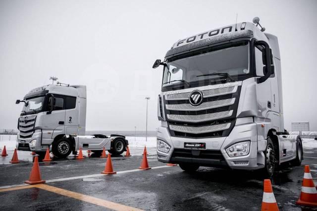 Volvo FH13. Тягач Foton Auman EST A, 11 800куб. см., 4x2