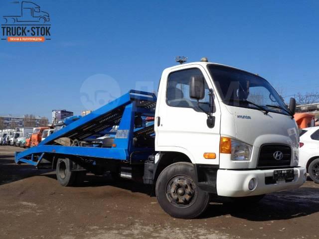 Hyundai HD78. Автовоз эвакуатор Hyundai HD 78, 3 933куб. см., 3 000кг., 4x2