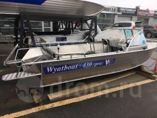 Катер (лодка) алюминиевый Wyatboat-430 Pro