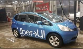 Uder минимальная комиссия Аренда авто Honda Fit для работы в такси