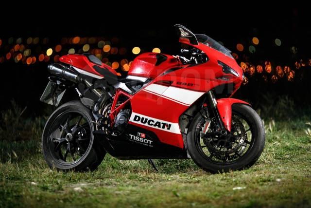 Ducati 848 Evo. 848куб. см., исправен, птс, с пробегом