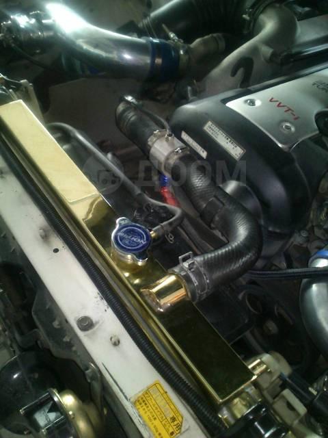 Тюнь радиатор Gear's made by Koyorad JZX100 1jz-gte МТ