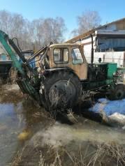 ЮМЗ 6. Продам трактор эксковатор, 0,50куб. м.