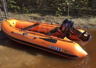 Лодка ПВХ надувная Солар Jet 380 НДНД
