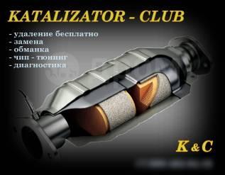 Удаление катализаторов Бесплатно Качественно. Гарантия. В Новосибирске