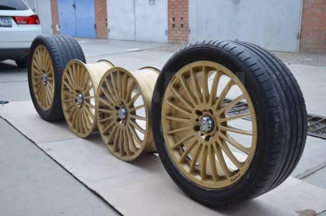 Bridgestone Potenza S001. летние, 2015 год, б/у, износ 20%