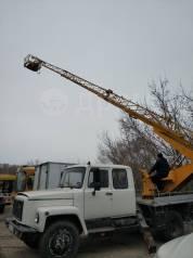 ГАЗ 3309. Автовышка ап 18 газ 3309, 2011 год, 660м/ч, 5 мест, 4 750куб. см., 18,00м.