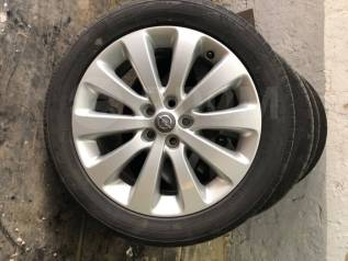 Шикарные диски Opel r.17с резиной