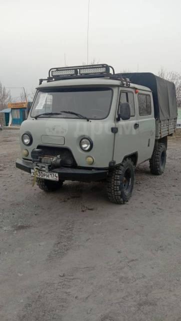 УАЗ-390945 Фермер. УАЗ-390945, 2 600куб. см., 1 000кг., 4x4