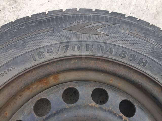 """Колесо 185-70-R14 88H. 5.5x14"""" 4x100.00 ET35 ЦО 56,1мм."""