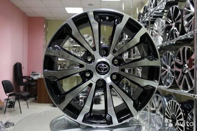 "Toyota. 7.5x19"", 6x139.70, ET30, ЦО 106,1мм."