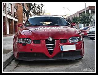 Бампер передний GTA для Alfa Romeo 147