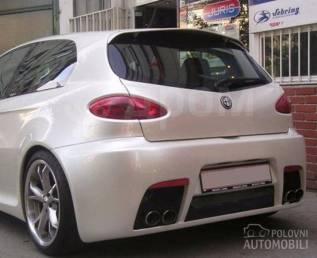 Бампер задний GTA для Alfa Romeo 147