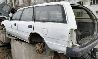 Стекло собачника левое на Mazda Capella
