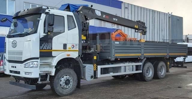 FAW. Продается 20-ти тонный c 8-ми тонным манипулятором HIAB 190TМ, 8 600куб. см., 20 000кг., 6x4