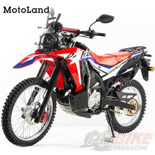 Motoland Dakar 250. 250куб. см., исправен, птс, без пробега. Под заказ