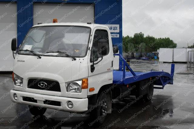 Hyundai HD78. Автоэвакуатор ломаная платформа (5700-6700 мм. ), 3 933куб. см., 5 000кг., 4x2