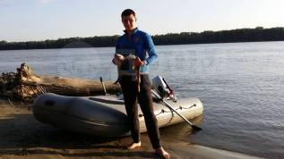 Продам лодку 3.5 с мотором Jet Marine 15 л. с