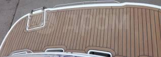 Изготовление и монтаж искусственного тикового палубного покрытия