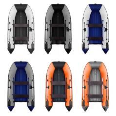 Лодка ПВХ Афалина 390 AFL тримаран