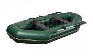 Лодка ПВХ Агул 270 НД гребная двухместная