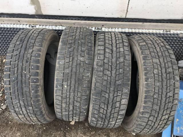 Dunlop SP Winter Ice 01. зимние, шипованные, 2008 год, б/у, износ 20%