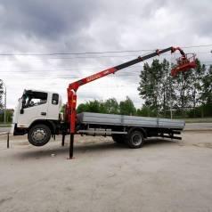 JAC N120 с КМУ, 2020