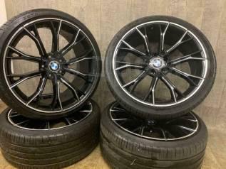 Фирменные кованные диски BMW 669 style + резина Pirelli P Zero