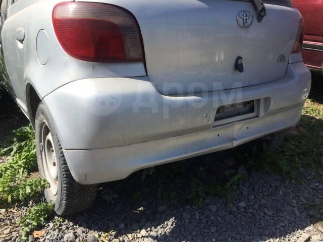 Бампер. Toyota Yaris, SCP10 Toyota Vitz, NCP15, SCP10, NCP10 Toyota Echo, SCP10 1SZFE, 2NZFE