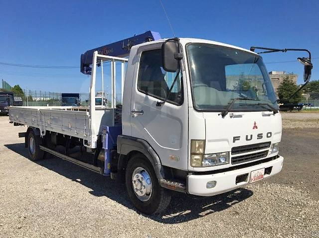 Mitsubishi Fuso Fighter. Манипулятор 5 тонн с ПТС + пульт Д/У!, 8 200 куб. см., 5 000 кг., 4x2. Под заказ