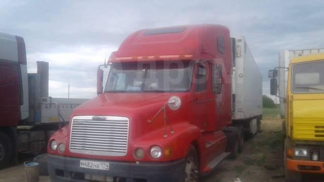 Freightliner Century. Продам сцепку Freightliner год 2001г. прицеп Mirofret 2002 г., 12 700куб. см., 20 000кг., 4x4
