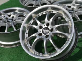 Manaray Vertec VR5 R18 x 7.5J +32, 8.5J +35, 5*114.3. Made in Japan!