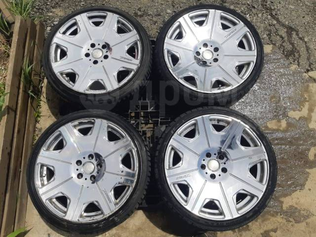 Комплект разношироких колес. на докатку или продажное авто