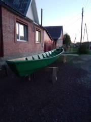 Лодка даревяная щюка
