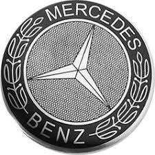 Наклейка Mercedes, диаметр 65 мм., на диски. В наличии!