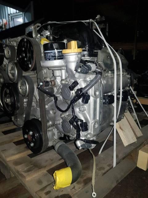 Двигатель в сборе. Subaru Forester, SJ5 FB20B