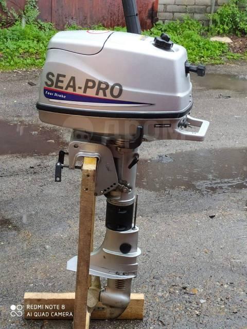Sea-Pro. 4,00л.с., 4-тактный, бензиновый, нога S (381 мм), 2018 год